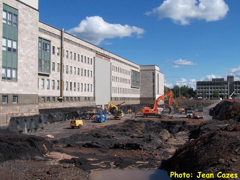 Universit laval les grands chantiers 2 qu bec urbain for Agrandissement pavillon