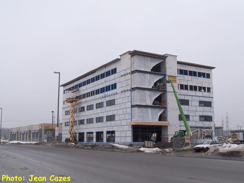 Le point sur les tours de bureaux projetÉes en 2007 À quÉbec 3e