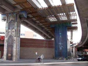 Vue en direction NO. Photo: Jean Cazes, 13 juillet 2007.