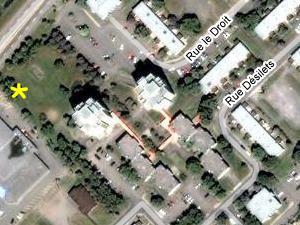 Tours Saint-Pie-X. Source: Google Map.