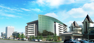 Grand format, Complexe Plaza Qu�bec. Source: societe-immobiliere.com.