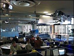 «Les décideurs doivent faire pression sur les médias pour qu'ils reflètent les préoccupations de Québec», soutient Alex Levasseur, président du Syndicat des communications de Radio-Canada. Radio-Canada.