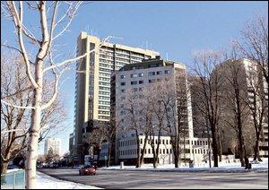 GE Capital est l�acqu�reur du complexe r�sidentiel Samuel-Holland dans le quartier Saint-Sacrement. Photo Le Soleil, Steve Deschenes.