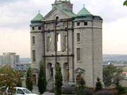 La façade de l'ancienne église. Source: Radio-Canada Québec.