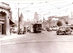 Fin des années 1940. Image tirée de: Calendrier de vues anciennes de Québec, 1994.