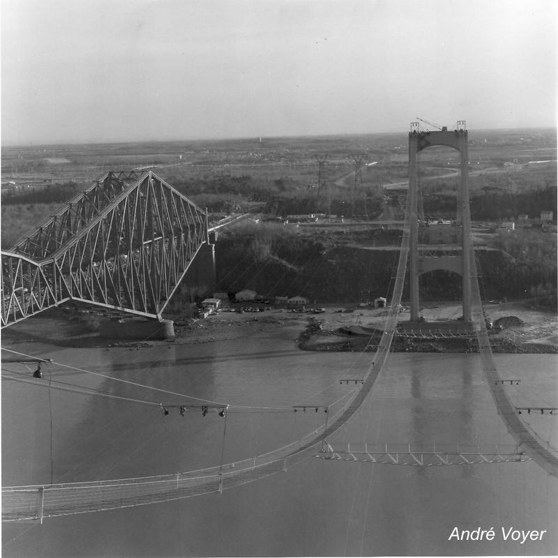 Voyage dans le temps la construction du pont pierre for Laporte louisiana