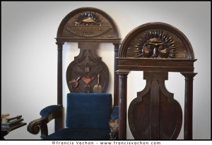masonic lodge - chair