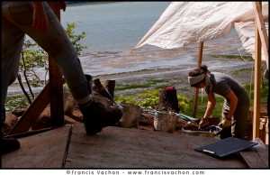 archeology parc Cartier-Roberval
