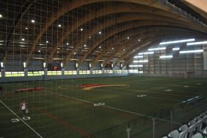 Stade Telus : vue intérieure