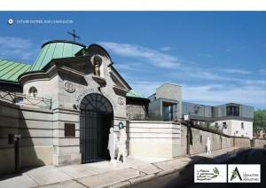 Monastère. Entrée Charlevoix