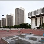 Empire State Plaza' Agency buildings and Legislative Office Building in Albany
