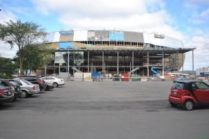 Nouveau Colisée - état des travaux septembre 2014 (2)