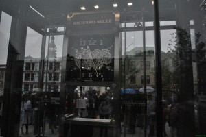 Horloge du Jura - inauguration