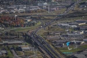 Autoroute Henry-IV highway, Quebec city