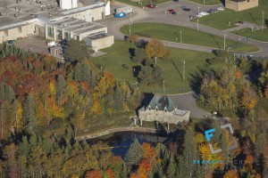 water treatment plant and water pump, Quebec city