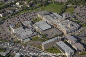 CEGEP Ste-Foy college Aerial photo