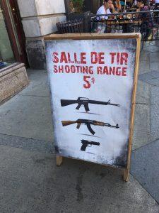 Salle de tir
